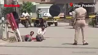 In UP, Cops Make Men Roll On Ground For Not Wearing Mask