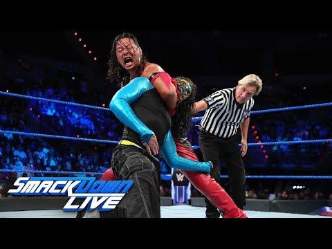 Jeff Hardy vs. Shinsuke Nakamura: SmackDown LIVE, Sept. 11, 2018