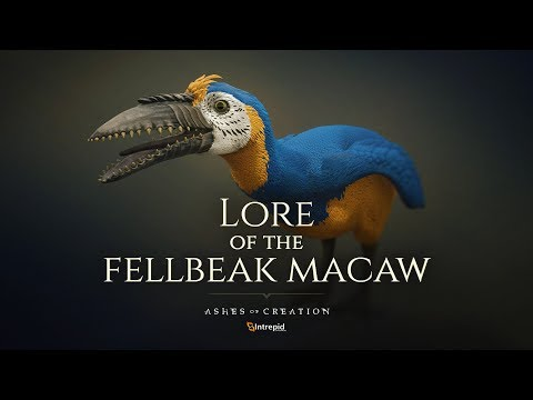 Ashes of Creation - Creation of the Fellbeak Macaw