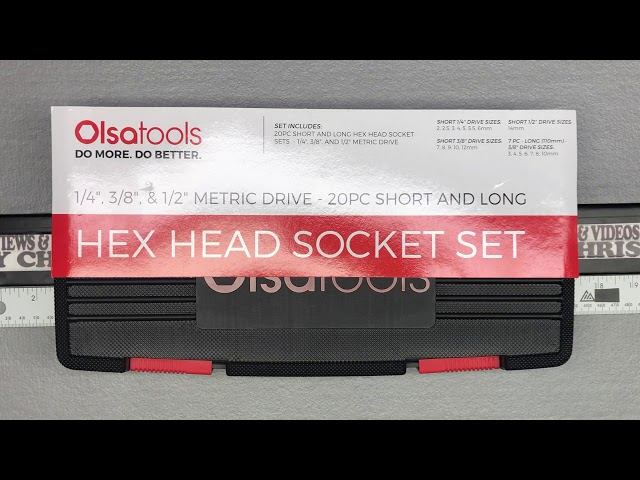 Youtube Video for Hex Bit Socket Set | Drive Hex Bit Sockets by Reviews & Videos By Chris