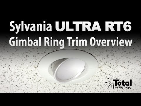 Sylvania ULTRA RT6 Gimbal Ring Trim Overview