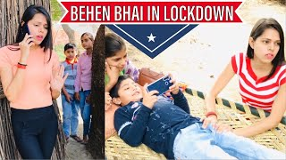 Behen Bhai In Lockdown || Charu Dixit ||