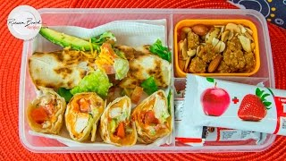 Healthy Lunch Healthy Snack   Lunch Bunch Toasted Wrap