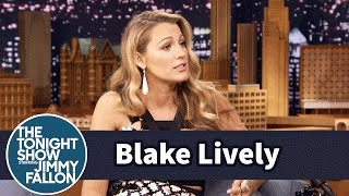 Blake Lively's Daughter Says Sit in a Funny Way - dooclip.me