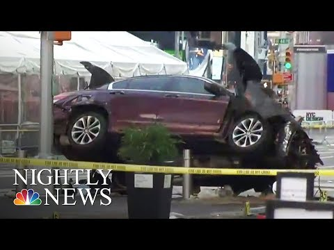 Times Square: 1 Dead, 22 Injured As Car Rams Pedestrians | NBC Nightly News