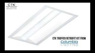 video: Columbia Lighting's CTK (Troffer Retrofit Kit)
