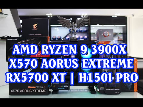 TIMELAPSE BUILD PC | RYZEN 9 3900X | X570 AORUS EXTREME | RX5700 XT