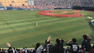 3月23日木横浜スタジアムロッテチャンステーマ2→吉田裕太応援歌