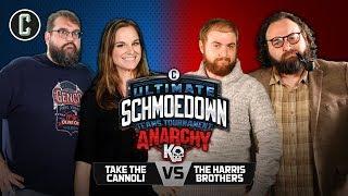 Anarchy Round 2! McWeeny/Chandler VS Harris Brothers - Movie Trivia Schmoedown