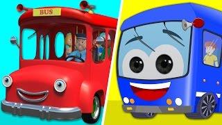 Wheels On The Bus   Lots More Nursery Rhymes   MT KID ZONE