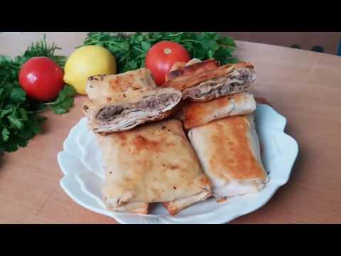 Быстрый рецепт пирожков для ленивых в 2 вариантах