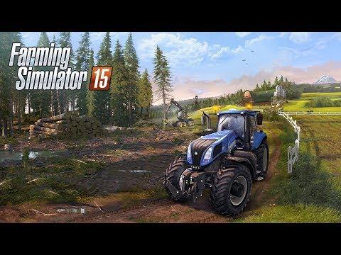 Farming Simulator 15 - PS3 Gameplay
