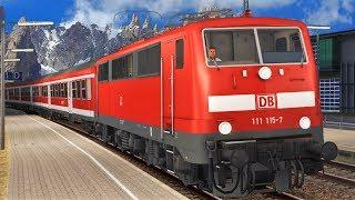 SCHWARZWALDBAHN   Hausach - Villingen   TRAIN SIMULATOR 2019   BR111 & Regionalexpress