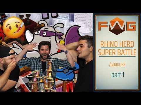 Rhino Hero Super Battle | Part 1 | Indokolatlan fun részeg egyetemistáknak (Goodlike) - Fun With Geeks