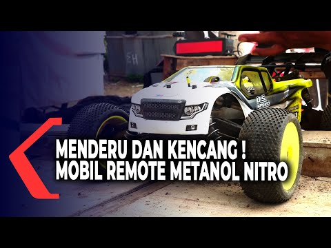 pacu adrenalin balap mobil remote bahan bakar metanol nitro