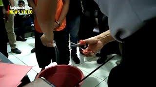 Puluhan Gram Narkoba Jenis Sabu Dilarutkan dalam Air Detergen