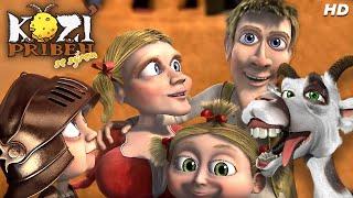 Kozí příběh se sýrem - Animovaný film pro celou rodinu v HD a 5.1 surround