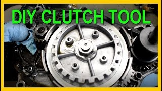 how to make a motorcycle clutch holder tool