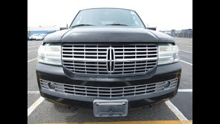 Cool looking Lincoln Navigator in Black