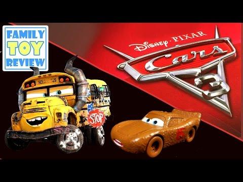 NEW Disney Cars 3 Toys Compilation - Jackson Storm Cruz Ramirez Chester Whipplefilter Miss Fritter