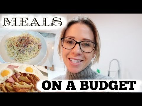 MEALS ON A BUDGET | CHEAP AND EASY FAMILY MEAL IDEAS | KERRY WHELPDALE