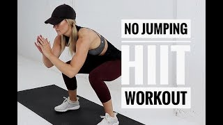 Low Impact FULL BODY HIIT Workout // No Equipment + No Jumping