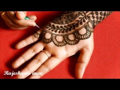 Download Simple Arabic Mehndi Design For Hands Latest New Mehndi
