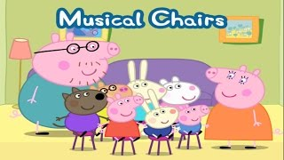 PEPPA PIG Playing Musical Chairs | Peppa Pig's Party Time  | Peppa Pig Games for kids