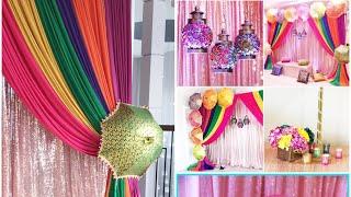 DIY- Mehndi Umbrella Backdrop Diy -Umbrella Centerpiece Diy- Wedding Decor