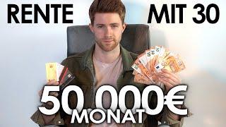 50.000€ im Monat mit Youtube | Rente mit 30?