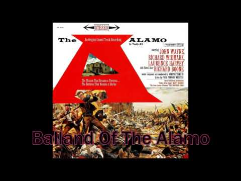 Dimitri Tiomkin - Balland Of The Alamo (Vocals : Marty Robbins)