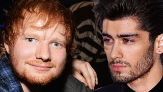 Ed Sheeran discusses Zayn leaving One Direction