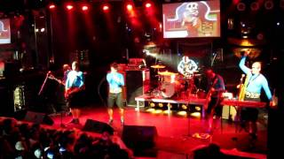 """Captain Hampton and the Midget Pirates(extended version)"" by Aquabats at Culture Room 2010"