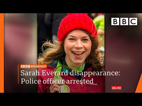 Met Police officer arrested over Sarah Everard disappearance ???? @BBC News live - BBC