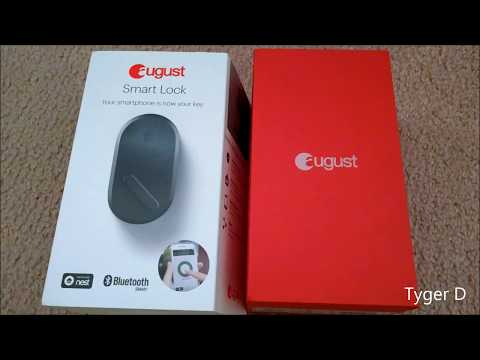 August Smart Lock 3rd Gen 2017 – Smartest front door auto lock!