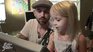 4 Year Old Vanessa Shows Chris Garver From Miami Ink™ How To Draw Princess Pinky Purple Blue