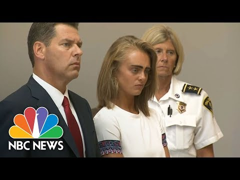 Michelle Carter Gets 2 And 12-Year Sentence In Texting Suicide Case | NBC News