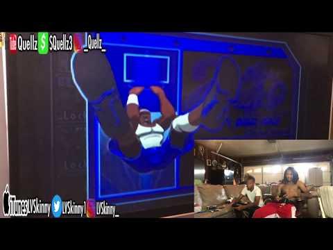 NBA Street Vol. 2 - LVSkinny Vs. Quellz Gameplay