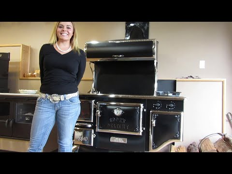 Elmira Fireview Wood Cookstove - Baking with the Stove