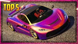 """Top 5 """"Progen T20"""" Paint Jobs! (Best Car Color Combinations)"""