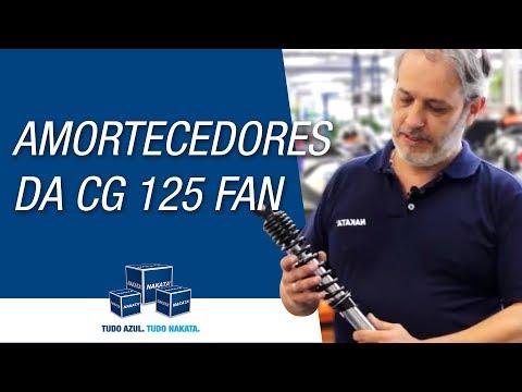 Como trocar os amortecedores da Honda CG 125 Fan