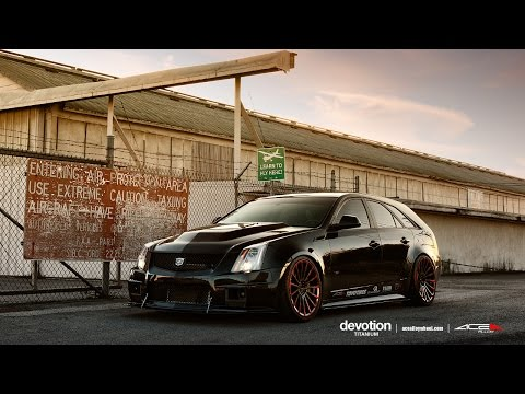 "Cadillac CTS-V Wagon on 20"" ACE DEVOTION WHEELS / RIMS"