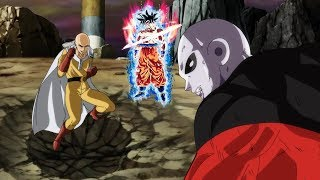 Saitama vs. Jiren and Goku - One Punch Man vs. Dragon Ball Super AMV Full Fight HD