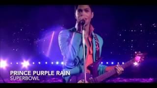 Prince Super Bowl Halftime Performance - Purple Rain (2007)