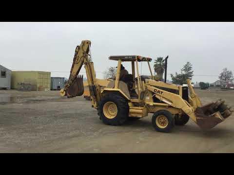 CAT 416 Backhoe Loader, 2wd, Diesel | HiBid Auctions