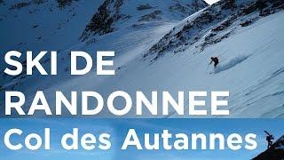 Col des Autannes Chamonix Mont-Blanc Le Tour Trient monoski ski de randonnée montagne