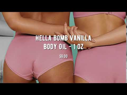 Hella Bomb Vanilla Body Oil - 1 oz