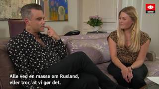 Robbie Williams still wanna party like a russian