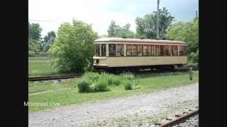 preview picture of video 'Tramway - Musée Ferroviaire Canadien - Canadian Railway Museum - Exporail - Saint-Constant'