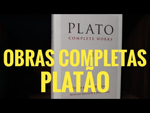 Obras Completas Platão - edição em Inglês
